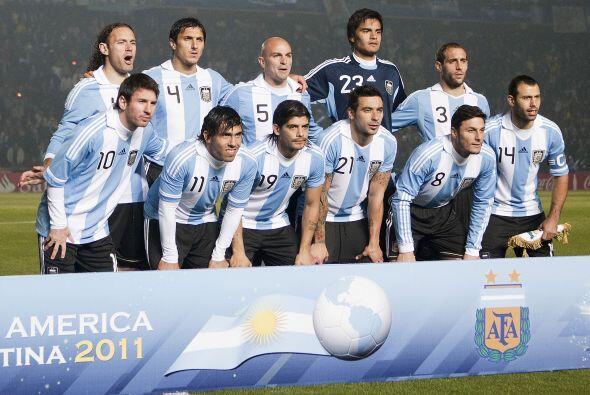 Argentina sumó su segundo empate consecutivo en esta Copa Am&eacu...