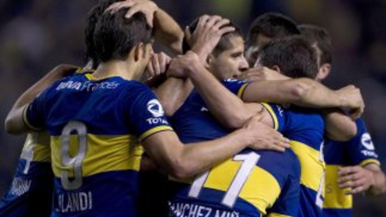 Boca festejó ante Rafaela con goles de Juan Riquelme e Insúa tras vencer...