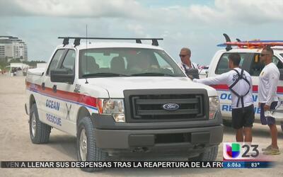 Hombre muere ahogado en Miami Beach