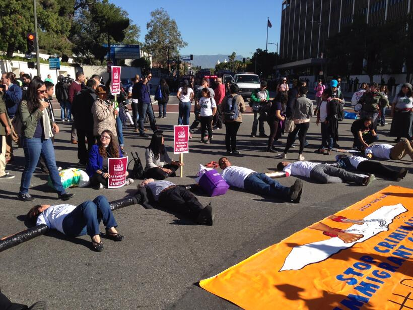 Marchas en Los Angeles