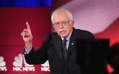 Los estados de EEUU también votan sobre distintas iniciativas Sanders2.jpg