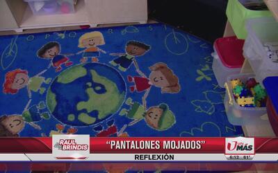 Reflexión: Pantalones mojados