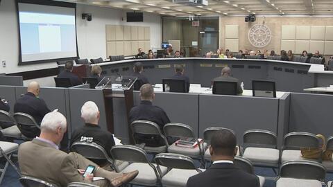 Se redujeron los delitos generales en Dallas durante el primer de mes de...