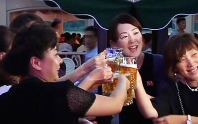 Corea del Norte y su festival de la cerveza