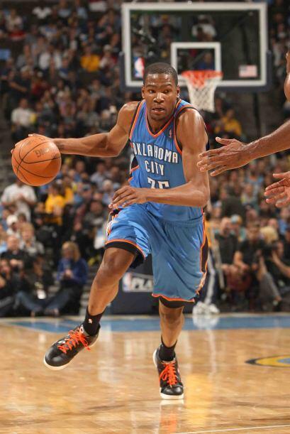 2 - Kevin Durant del Thunder de Oklahoma City. El líder anotador por seg...