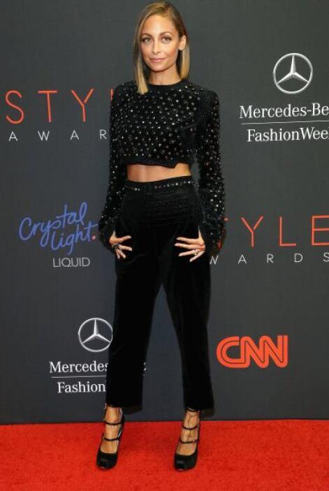 La 'fashionista',  Nicole Richie, elevó a otro nivel su encanto con este...