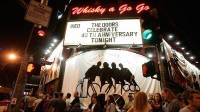 The Whisky A Go Go es uno de los clubes más legendarios del rock, donde...