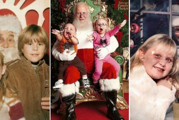 Las fotos navideñas son para muchos un memorable recuerdo, mientras para...