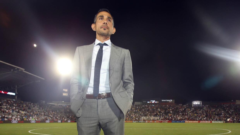 Pablo Mastroeni dirigió a las Estrellas de la MLS