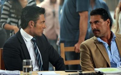 Fernando Colunga y Eduardo Yañez