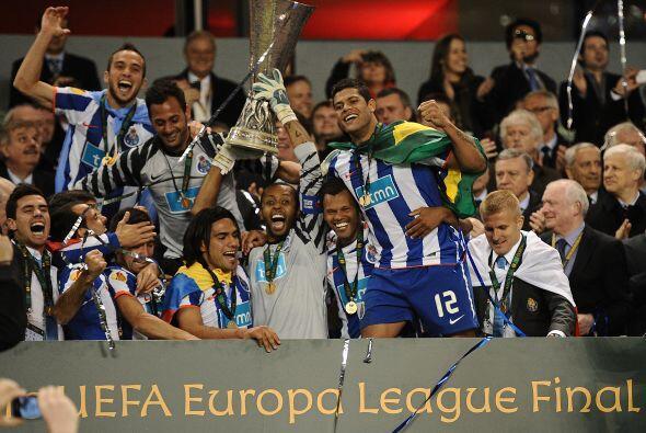 Y por último, la Liga Europa, antes conocida como Copa UEFA, que...
