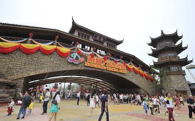 Parque temático Wanda, en China