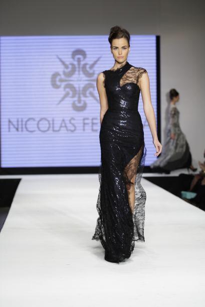 Una de las presentaciones más esperadas fue la de Nicolás Felizola.