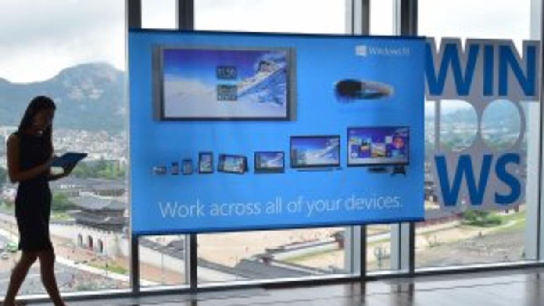 Microsoft presentó Windows 10.