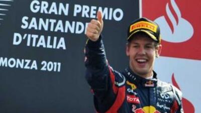 Vettel volvió a ganar y está cada día más cerca del campeonato.