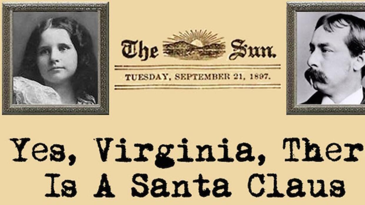 Yes, Virginia there is a Santa Claus