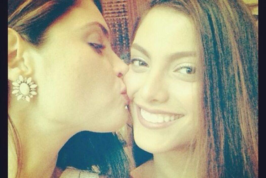 Chiqui y María Elena son inseparables.