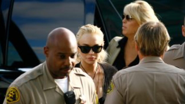 Lohan había sido sentenciada a 120 días en prisión por violar su liberta...