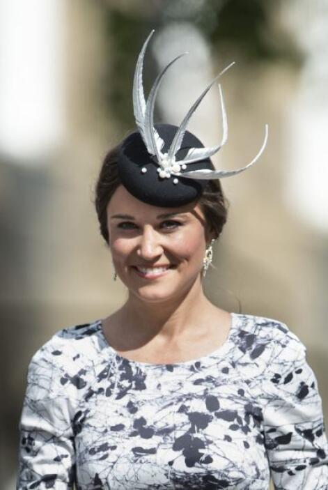 Phillippa Middleton: Es la hemana de la princesa Kate. Fue nombrada en 2...