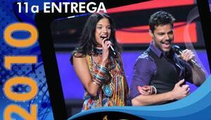 Natalia y Ricky Martin encendieron el escenario de Latin GRAMMY cuando c...