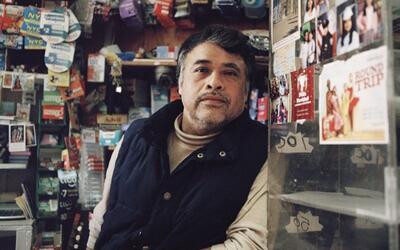 Pedro Cruz en su bodega de Sunset Park.