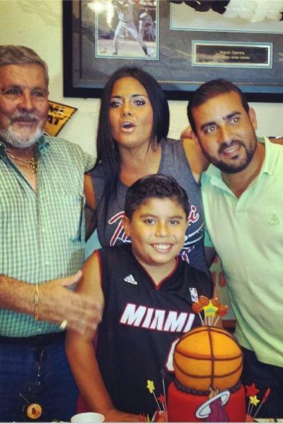 ¡Qué bonita familia! Maripily celebró el cumpleaños número 12 de su hiji...