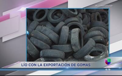 Más de medio millón de gomas sin recoger en Puerto Rico