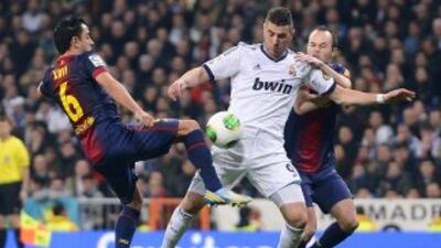 Fueron pocas las llegadas del Madrid, pero con eso les bastó para sacar...