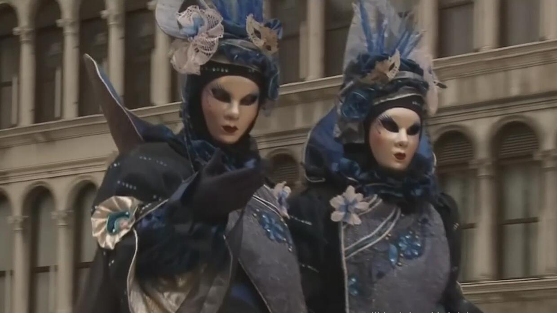 Dos francesas ganan el concurso de disfraces del Carnaval de Venecia