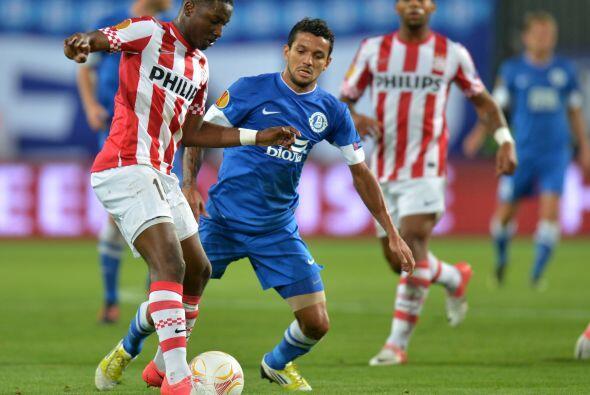 Otro equipo que no sabía en dónde se metía fue el PSV Eindhoven, que vis...