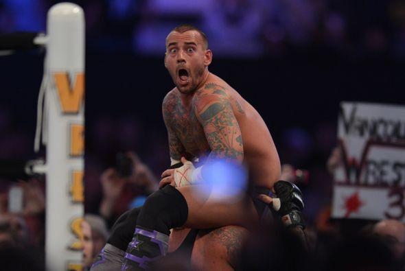 CM Punk hizo bien su papel e hizo gala de su ténicas.