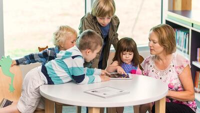 Participa en la vida escolar de tus hijos