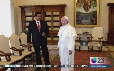 Continúan las tensiones en Venezuela tras la intervención del papa Franc...