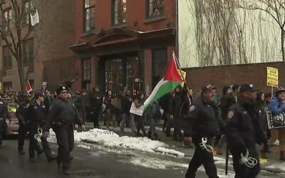 No cesan las protestas en Nueva York que rechazan las redadas contra inm...