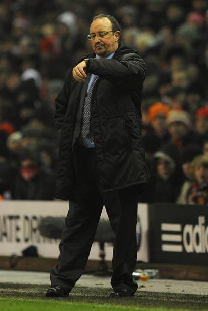 Para Rafa Benítez, entrenador del Liverpool, las horas pueden est...