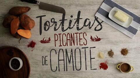 Tortitas picantes de camote - El Recetario con #TwistLatino