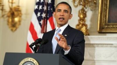 Obama se mostró confiado por la economía luego de que Standard & Poor's...