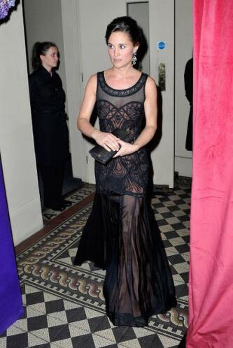Pippa Midleton sorprendió a todos durante el evento de Sugarplum Ball al...