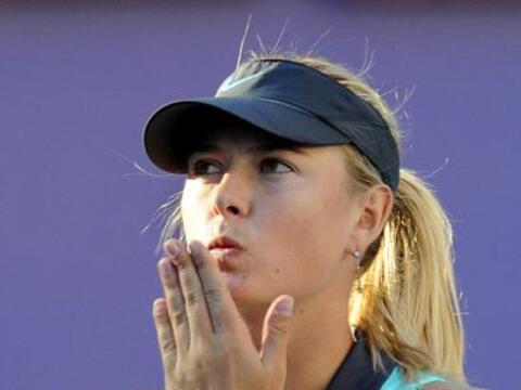 Maria Sharapova se presentó con una victoria en el Abierto de Chi...