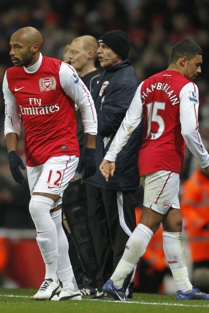 Thierry Henry disputó unos minutos y el Arsenal avanzó a los Octavos de...