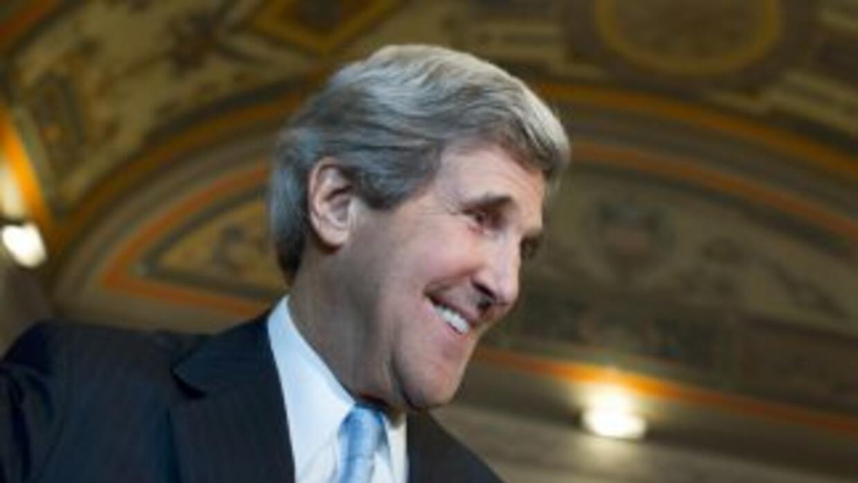 John Kerry recibió suficientes votos que lo avalan como nuevo Secretario...