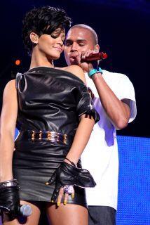 Las miradas de todos estarán sobre ellos, Rihanna y Chris Brown se encon...