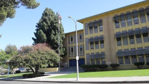 Crenshaw High School, ubicada en Los Ángeles, California.