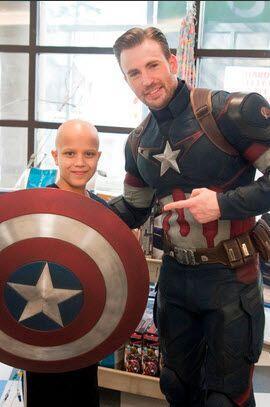 Pero a decir de estas fotos, los súper héroes son otros: cada niño que l...