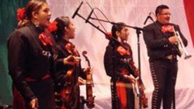 Concurso Internacional de Mariachi. Parte de la celebracion del Bicenten...