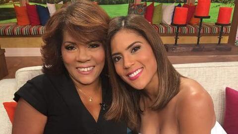 Detrás de cámaras: Doña Divina hizo su debut en Despierta América