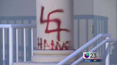 Signos de odio contra judíos en Miami