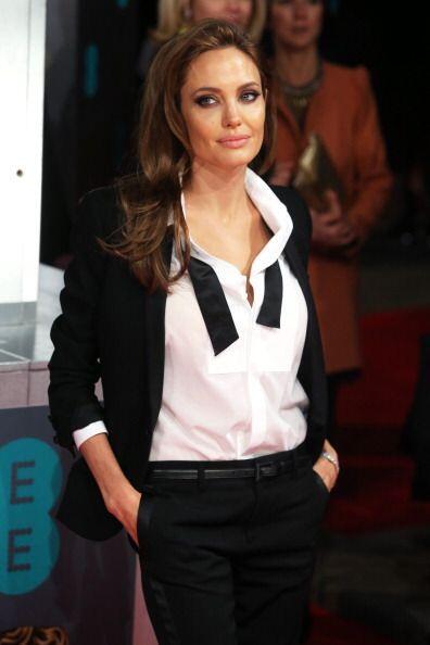 La más flasheada de los BAFTA 2014 definitivamente fue Angelina pues sor...