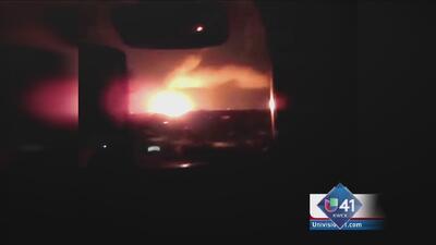 Pánico por explosión de gas en Encinal