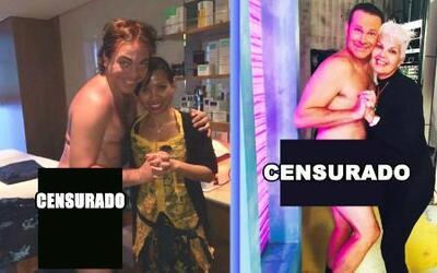 ¿Quién lleva mejor el cartelito de Censurado? Alan Tacher o Cristian Castro